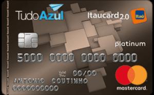 Cartão Tudo Azul Itaucard Mastercard Platinum