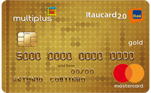 cartão mstercard multiplus gold