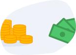 1. Possíveis rendimentos do dinheiro na conta e retenção por mais tempo