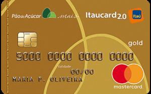 Cartão Pão de Açucar Itaucard Gold