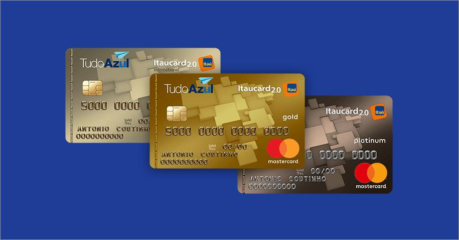 Cartão Tudo Azul Itaucard