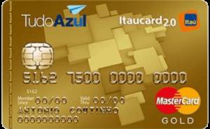 Cartão Tudo Azul Itaucard Mastercard Gold