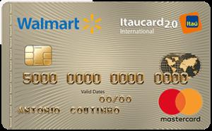 Cartão Walmart Itaucard
