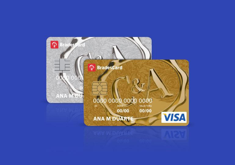 Cartões de crédito C&A internacional e Gold