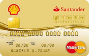 Cartão Shell Santander