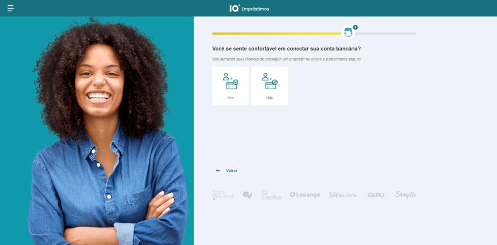 Simulador conexão de contas