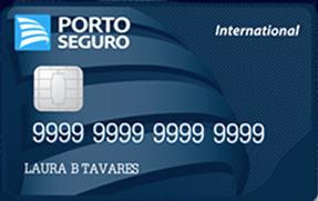 Cartão de crédito Porto Seguro Internacional