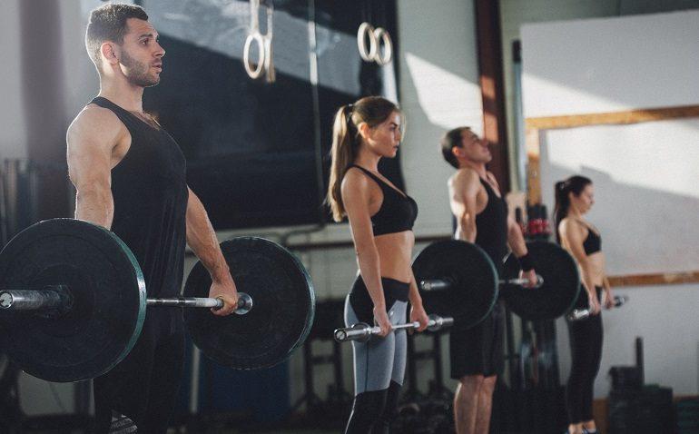 Atletas de CrossFit