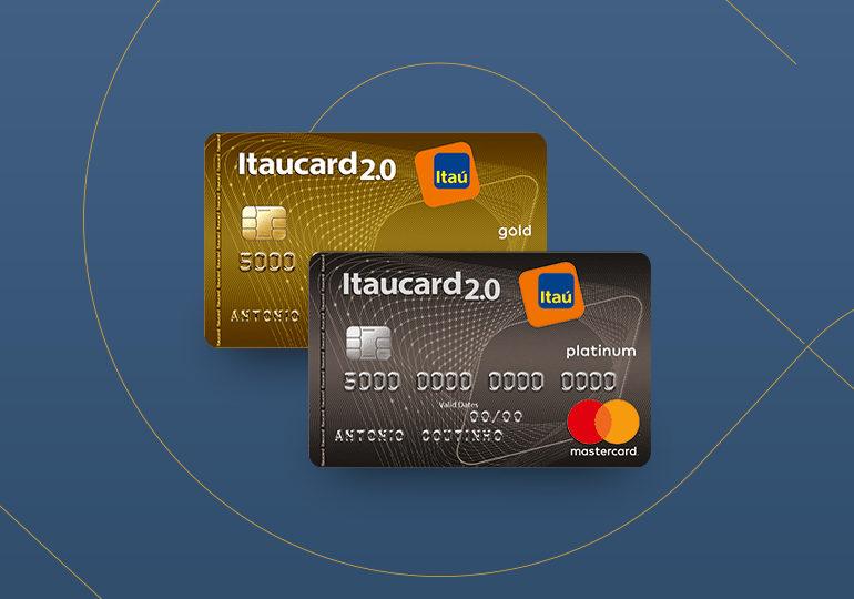 itaucard 2.0 gold e platinum