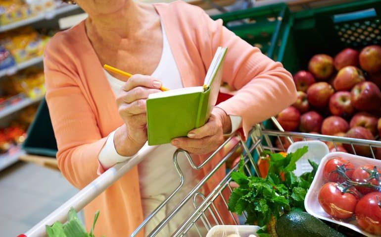 a lista de supermercado perfeita